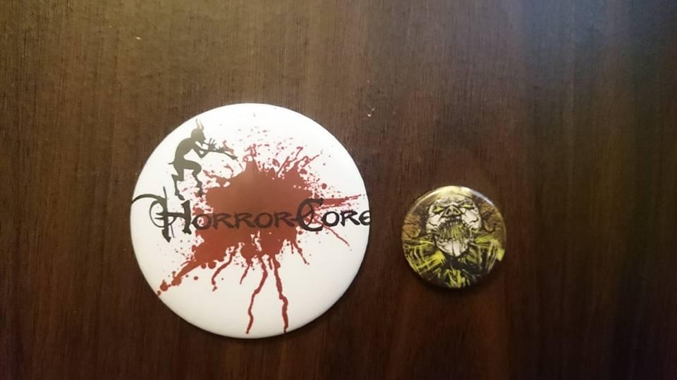 placka horrorcore button říše za zrcadlem řezník